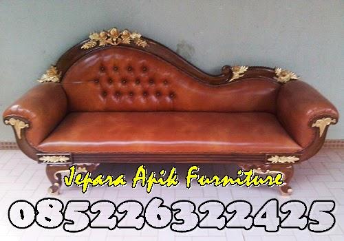 sofa mawar jati