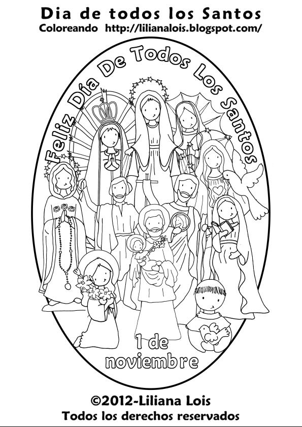Liliana Lois Diseños: Dia de todos los santos