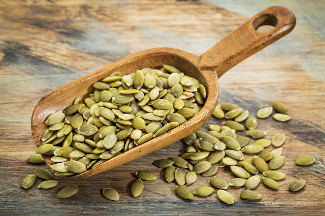 pumpkin seeds iron