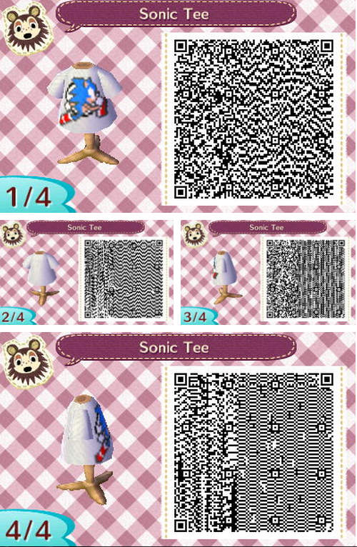 In Loose Regard To Video Games QR Code For Animal Crossing New Leaf Simple Animal Crossing New Leaf Sewing Machine Qr Codes