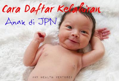 cara mendaftar kelahiran bayi