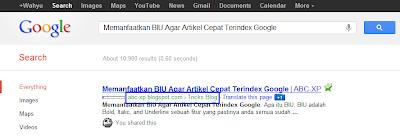 Pasang Breadcrumb Yang Cepat Terindex Google