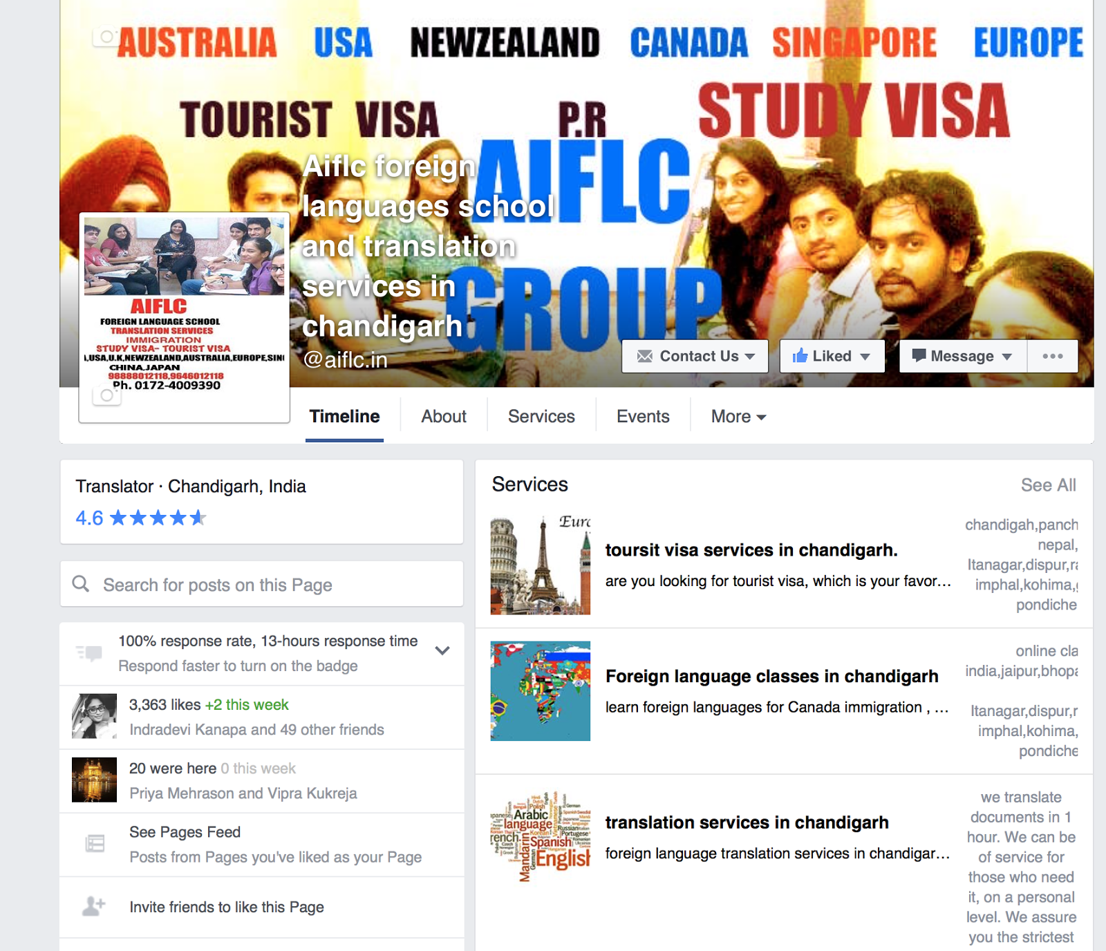 Aiflc group (Visit Facebook for Updates)
