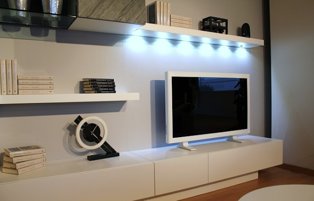 The TV Cabinet with Stone Door
