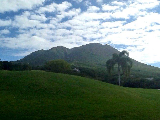 The Holland House: Nevis Volcano