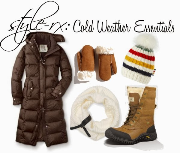 Cold Weather Essentials -- style-rx.ca