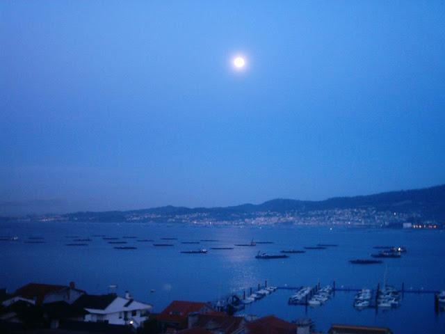 luna llena en Vigo