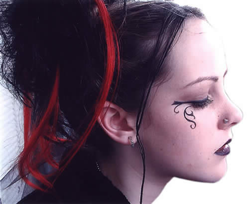 gothic hairstyles and haircuts
