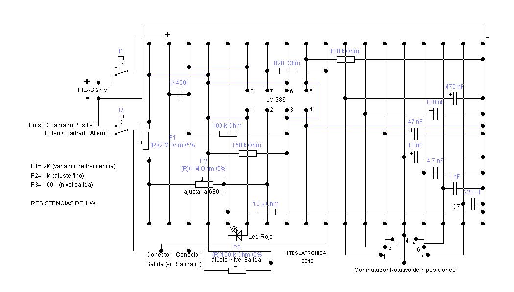 Circuito Zapper : De experimentación nueva versiÓn en zapper