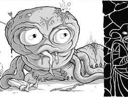 Creepy Coloring Book Drawings