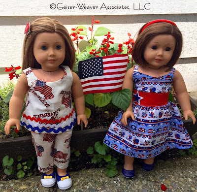 Patriotic outfits by Geiser-Weaver Associates, LLC