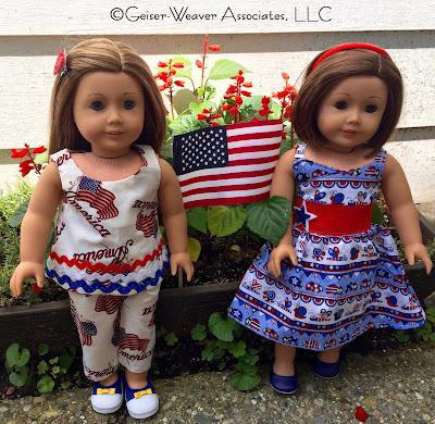 Patriotic outfits by Geiser-Weaver Associates, LLC