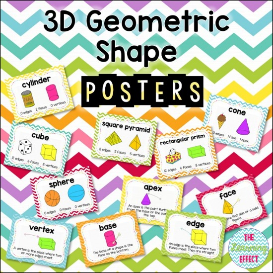 https://www.teacherspayteachers.com/Product/3D-Geometric-Shape-Posters-293845