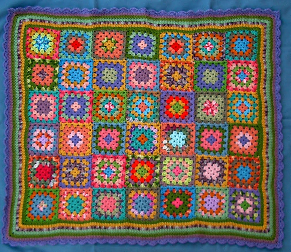 Quick Crochet Rug | No. S-415 | Free Vintage Crochet Patterns