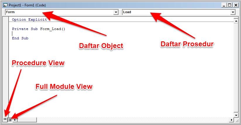 View Code Window