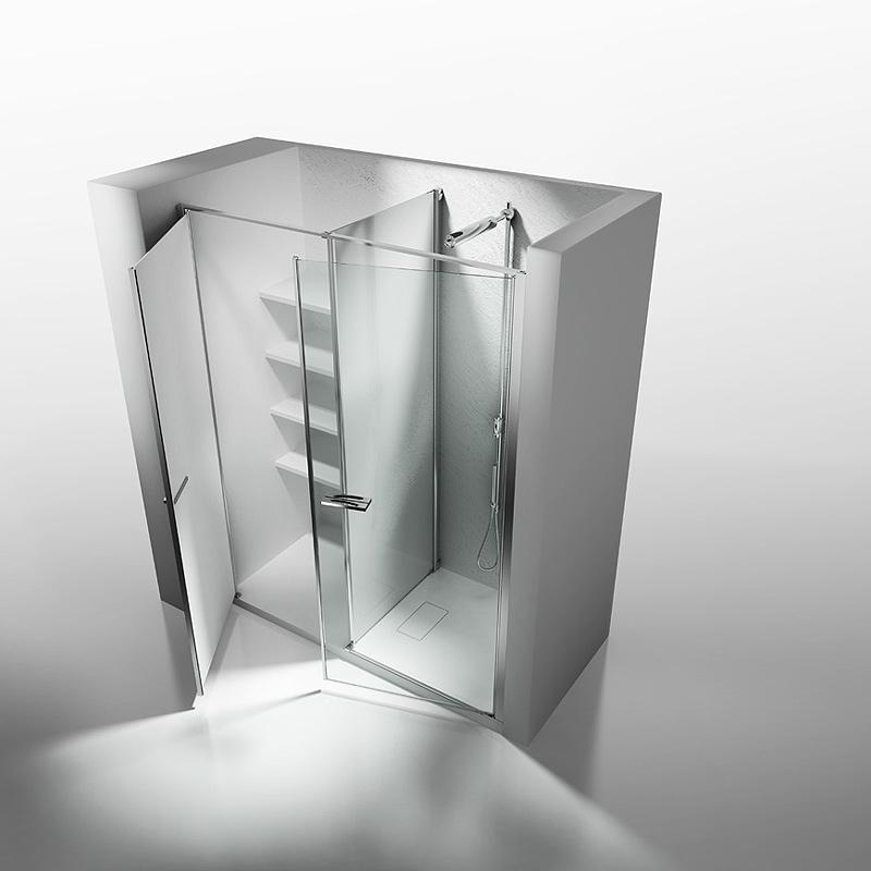 Interiores minimalistas vismaravetro presenta sus nuevas - Cabinas de ducha ...