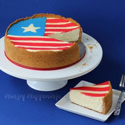 Flag Cheesecake