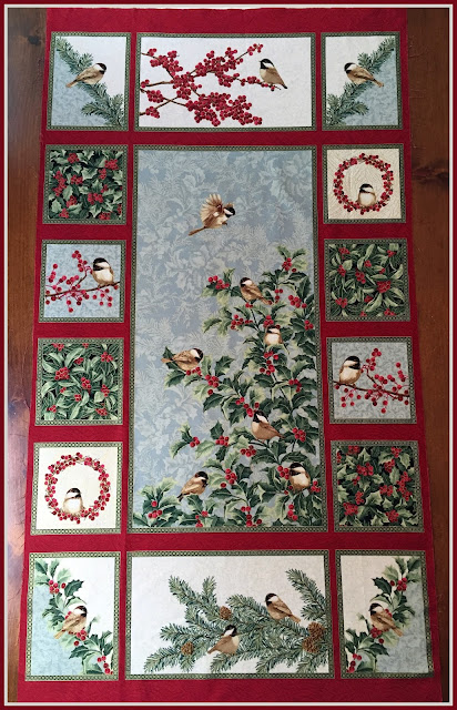 Karen S Quilts Crows And Cardinals Chickadees And