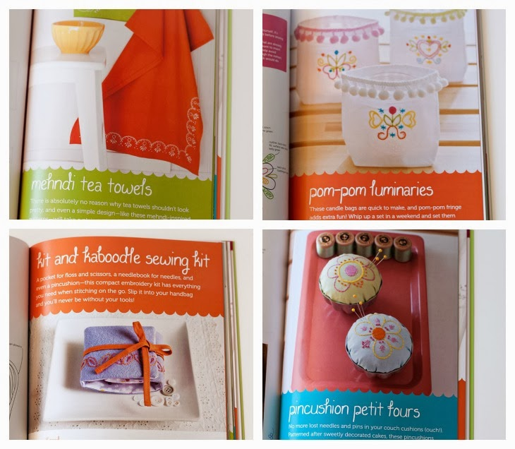 Stitched Blooms Book Review & Giveaway