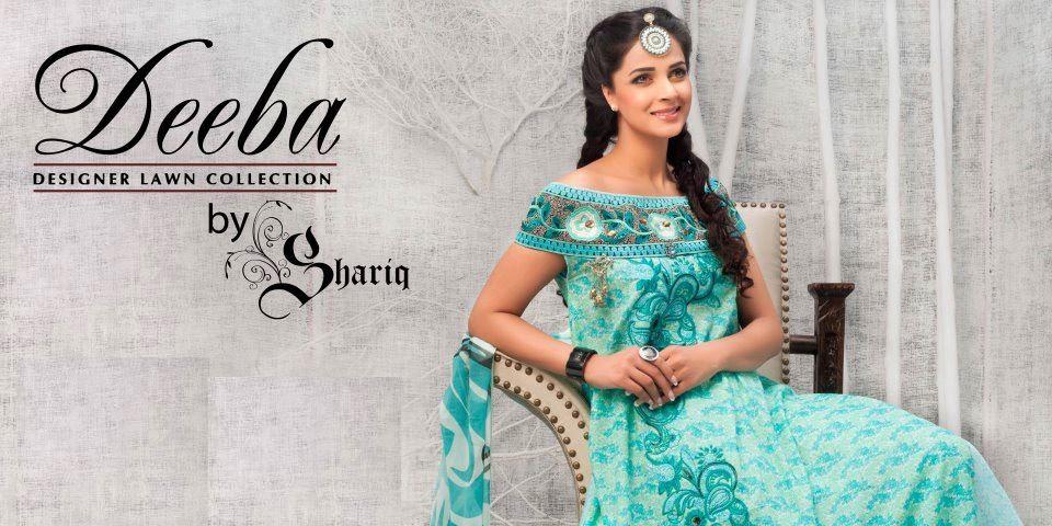 deebahummeralawncollection2012byshariq28529 - Deeba Designer Lawn 2012