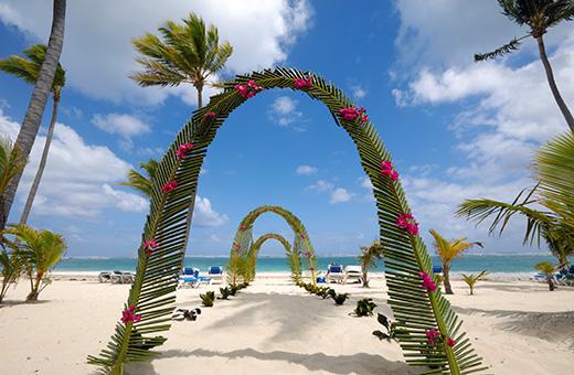 Beach or destination wedding