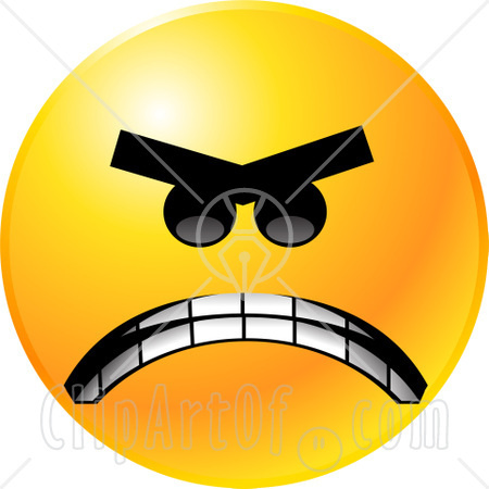 : Smiley Face Clip Art Black And White , Sad Smiley Face Clip Art ...
