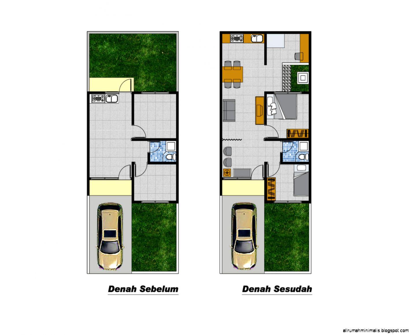 5 Cara Desain Rumah Minimalis Type 36 Yang Cantik  Desain Rumah