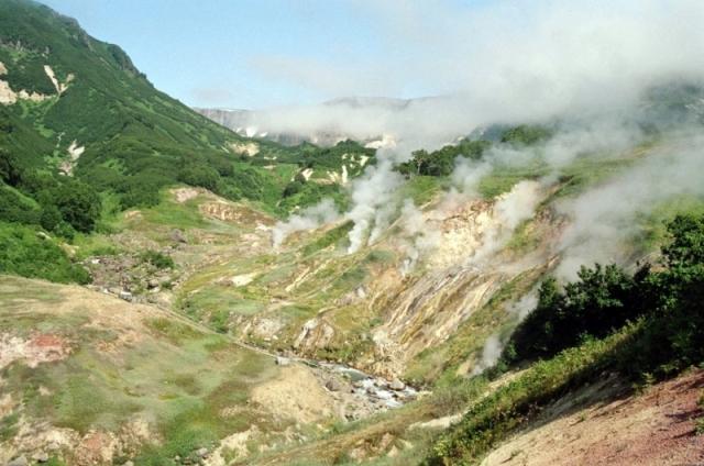 Geiser Valley