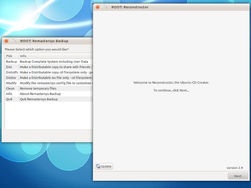 Remastersys & Reconstructor: Buat CD Linux-mu sendiri