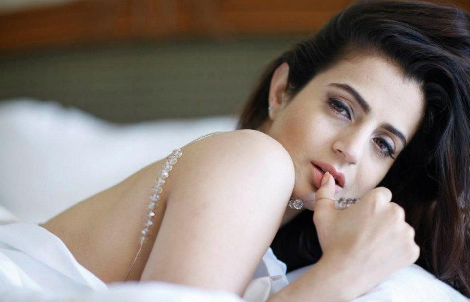 Amisha patel latest photo shoot for Amisha indian cuisine