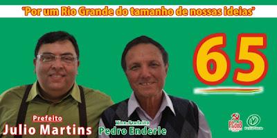Julio, Martins, 65, prefeito