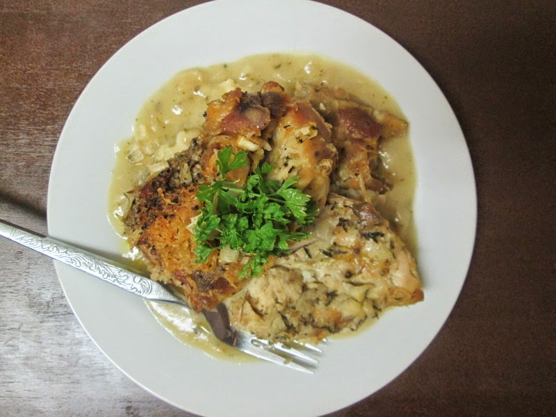 White Wine and Herb Chicken