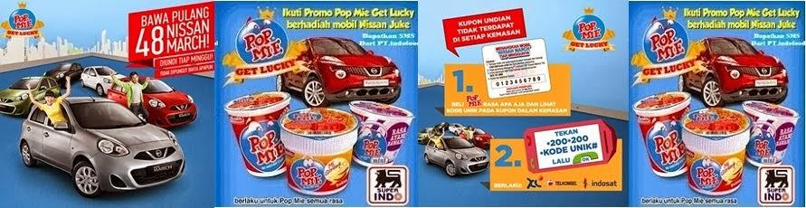 PROGRAM PEMENANG UNDIAN KUPON BERHADIAH POP MIE GET LUCKY PT.INDOFOOD TAHUN 2014