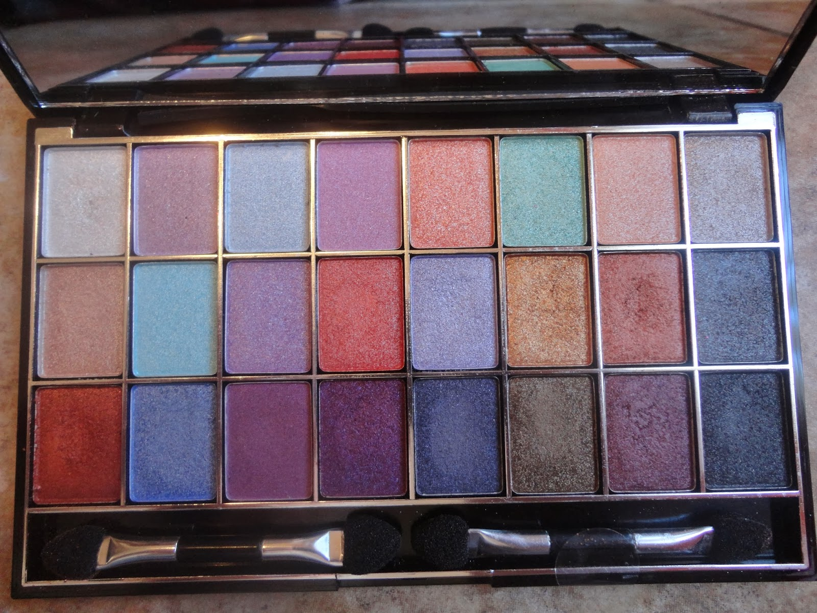 Diaries Of A Sunflower Hard Candy Glam Kit Eyeshadow Palette