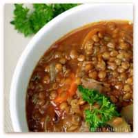 Weight Loss Recipes : Spicy Lentil Soup