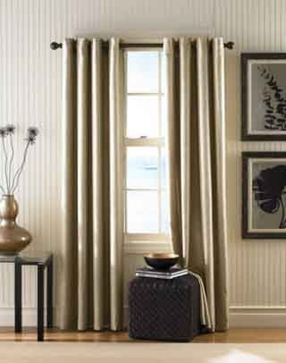 How to Hang Tab Curtains | eHow