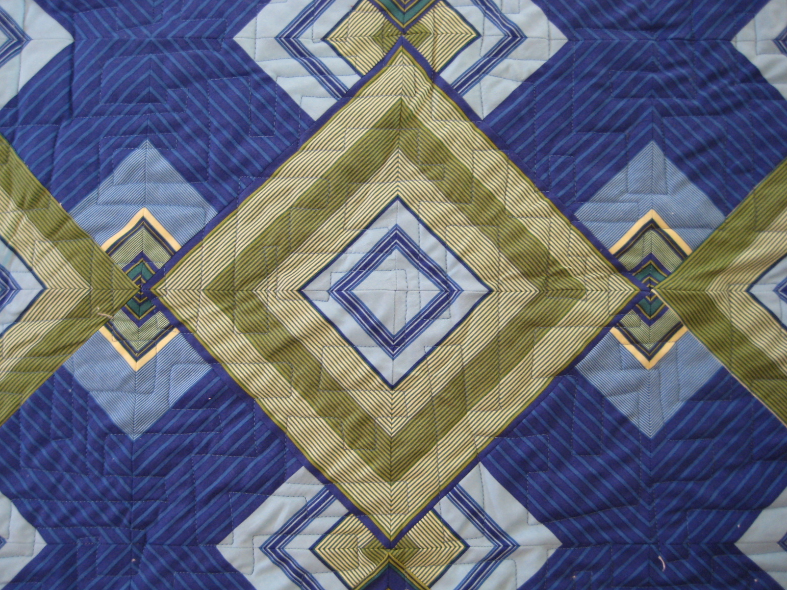 Quilt Patterns Using Stripe Fabric : I QUILT FOR FUN: One for the Money....