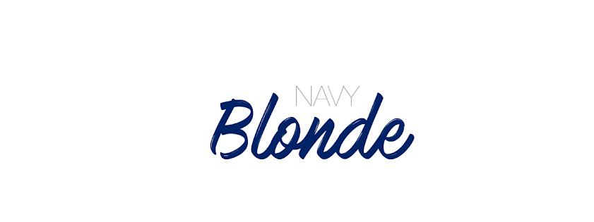 Navy Blonde