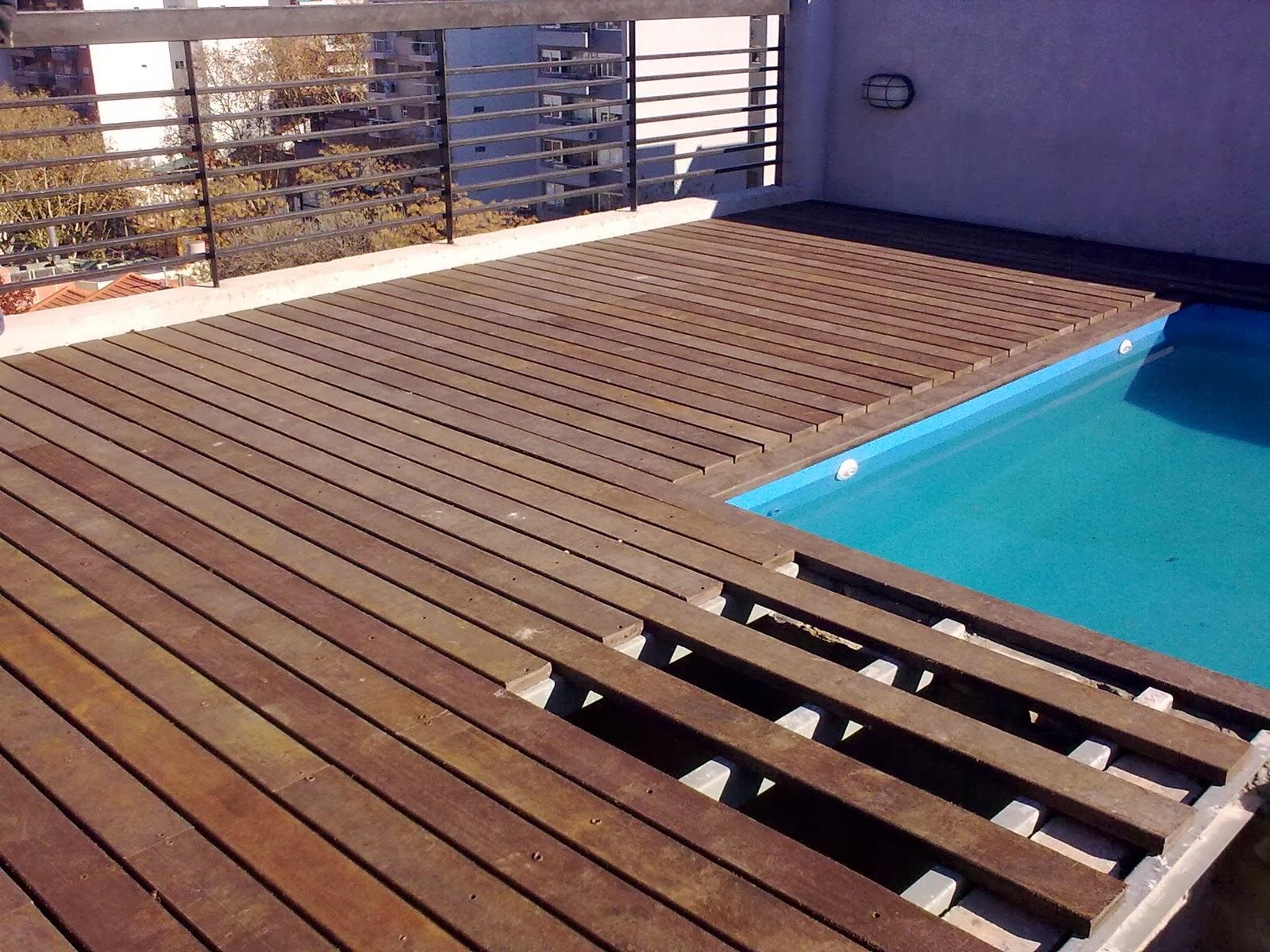 Contigiani paso a paso c mo instalar y cuidar un deck for Nivelar piso de tierra