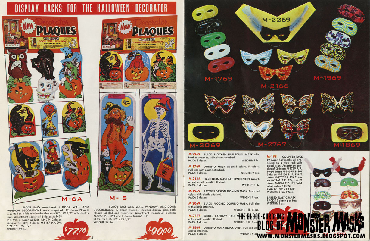 the 1970 band star halloween catalog has one of the coolest catalog covers ever posted here on the blood curdling blog of monster masks - Halloween Catalogs