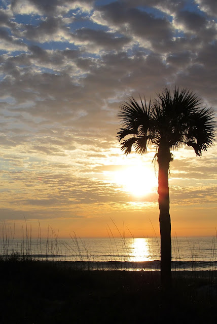 Photo, Morning Sky on the Beach Florida