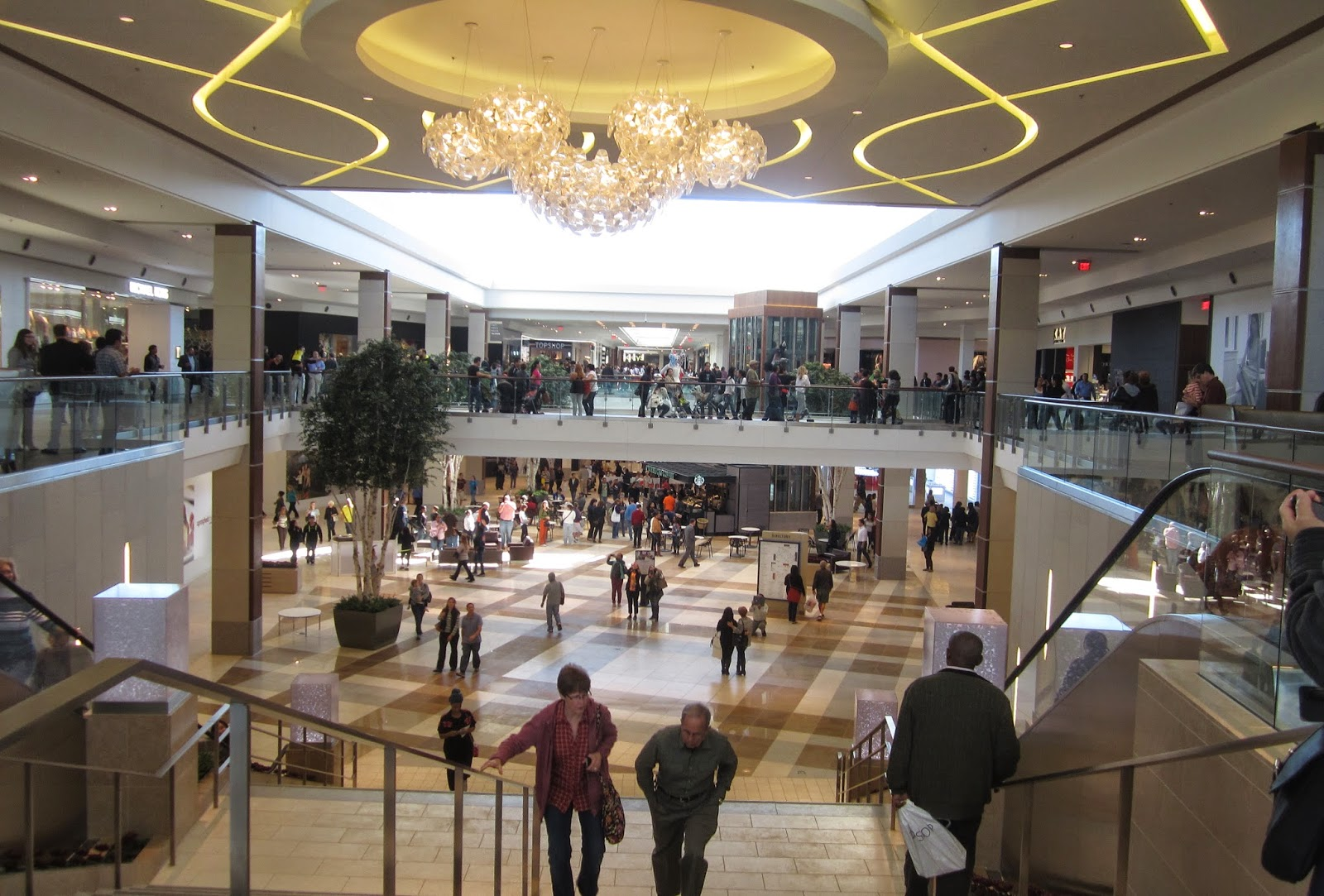 the Annandale Blog: Shoppers converge on new Springfield ...