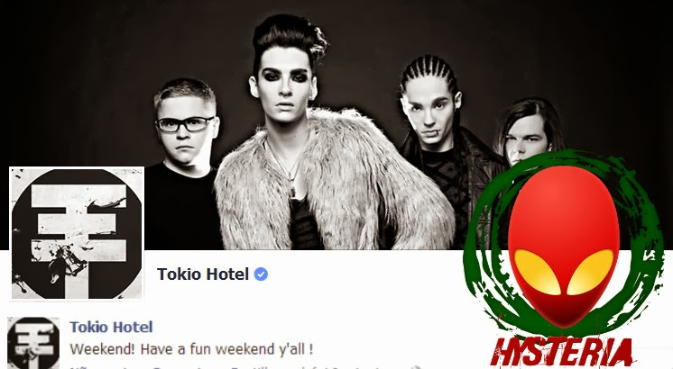 Facebook @tokiohotel 21.02.2014 + reply Fev14fac