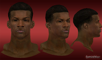 NBA 2K13 Jimmy Butler Cyberface Mod