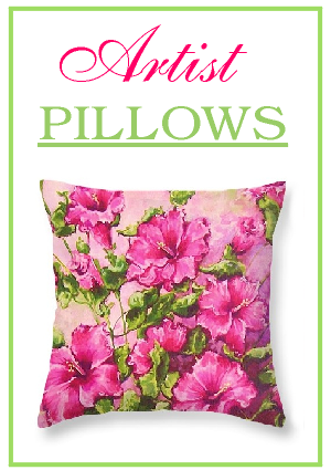 ARTIST PILLOWS