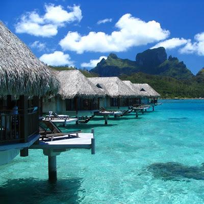 Otra hermosa fotografía de Bora Bora
