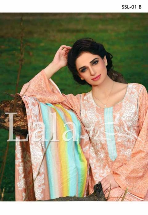 sana samia spring lawn collection by lala 2