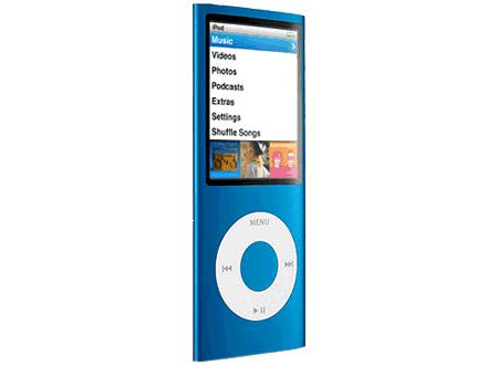 mobile mania ipod nano 4th generation blue. Black Bedroom Furniture Sets. Home Design Ideas