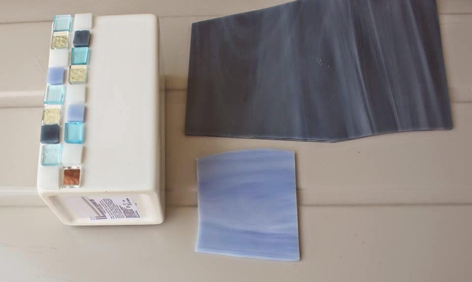 Un pezzo alla volta due set da bagno personalizzati in azzurro carta da zucchero - Bagno carta da zucchero ...