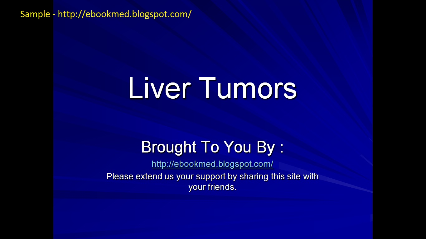 Screen Shots Of Liver Tumor Free Power Point PresentationLiver Cancer Tumor